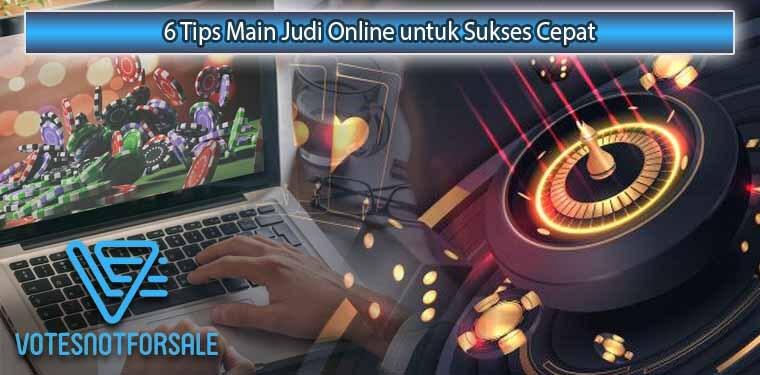 Tips Singkat Sukses Judi Online Secara Tepat